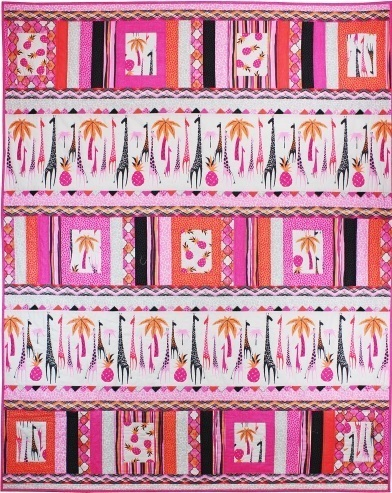 Migration pink quilt