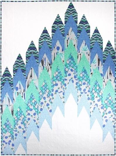 Migration Blue Quilt