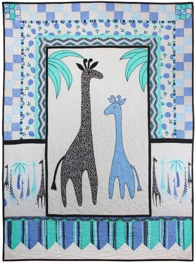 Migration Giraffe Quilt