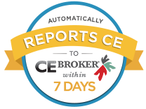 Automatically Reports to CE Broker
