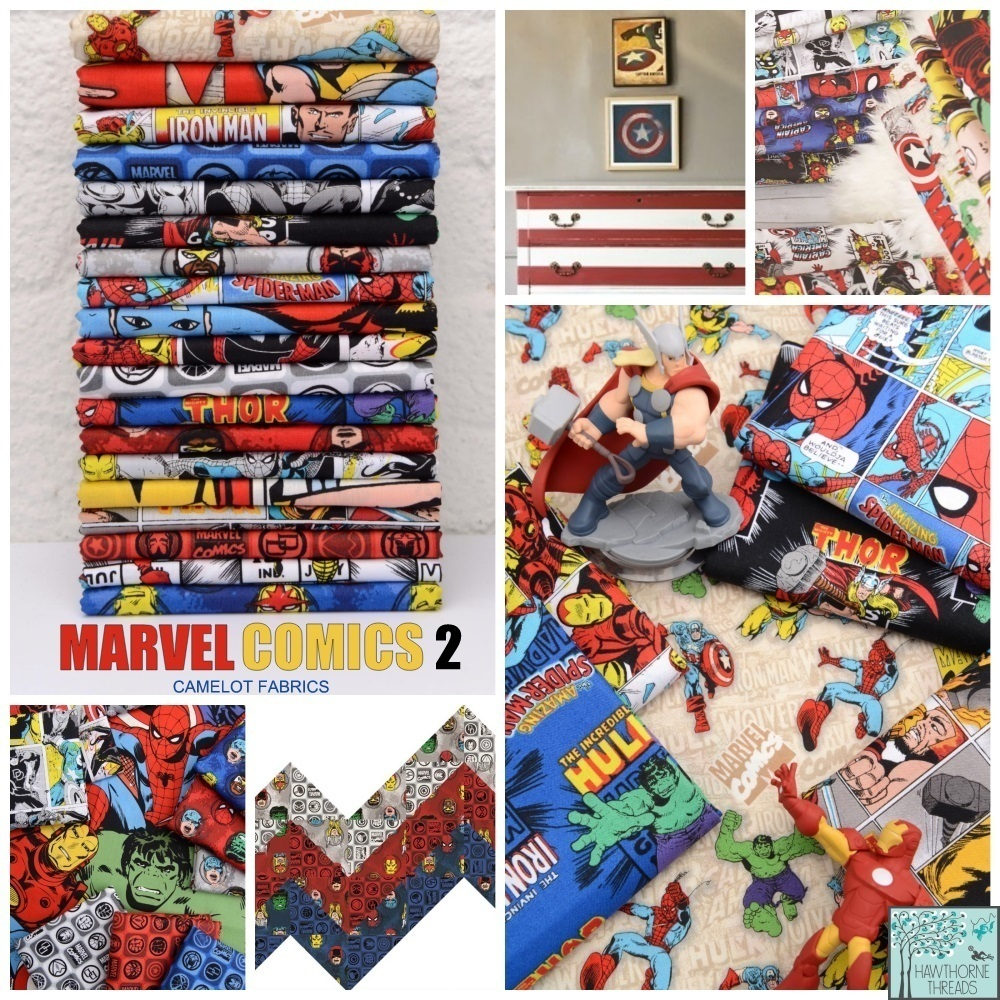 Marvel Comics 2 Fabric Poster