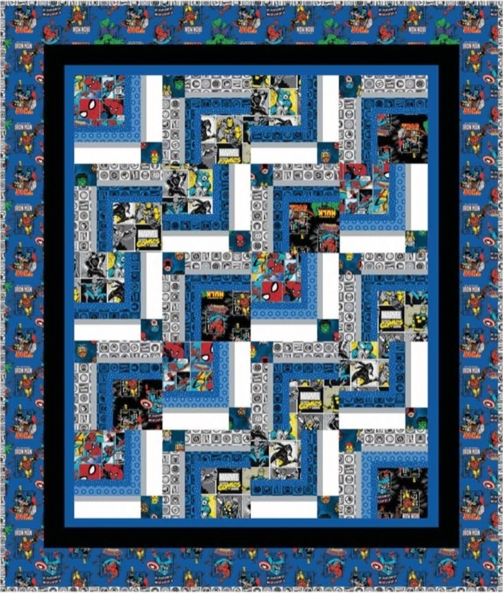 Marvel Comic Quilt