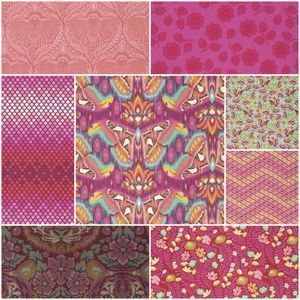 3219 eden fat quarter bundle in tourmaline