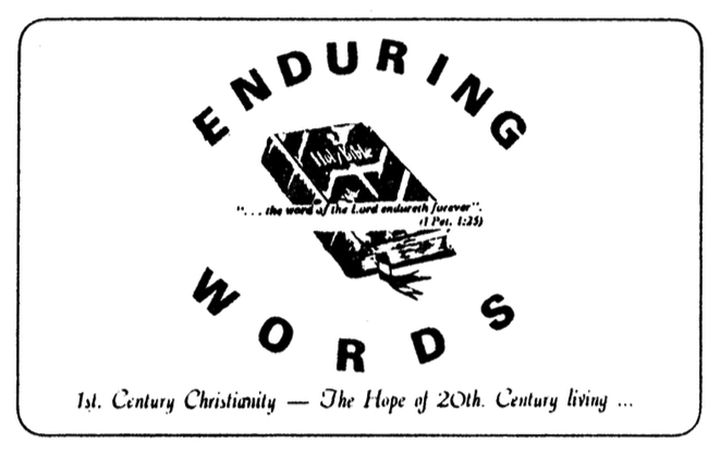 Enduring Words Logo