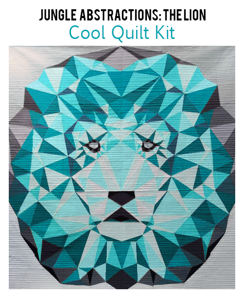 Cool Quilt Kit Lion