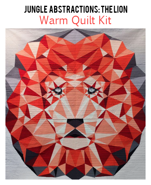 Warm Quilt Kit Lion