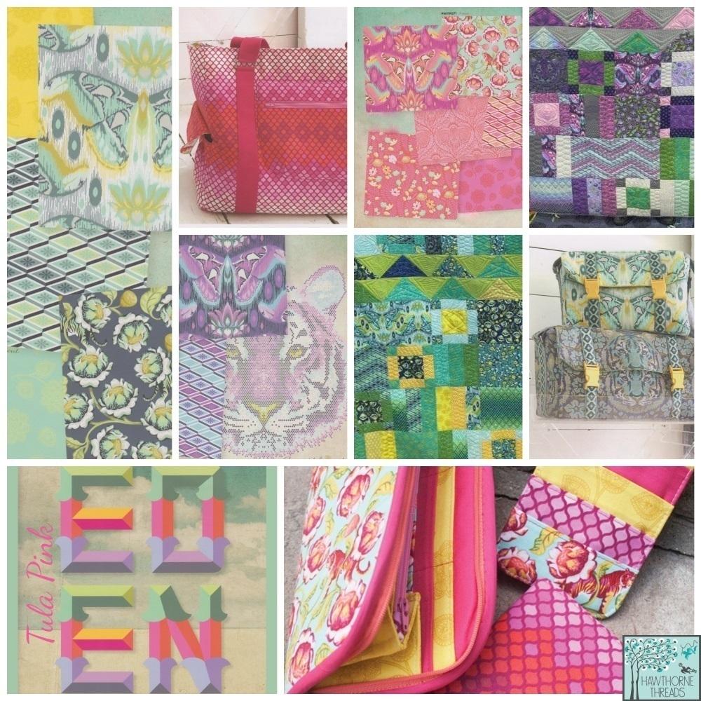 Tula Pink Eden Fabric Poster