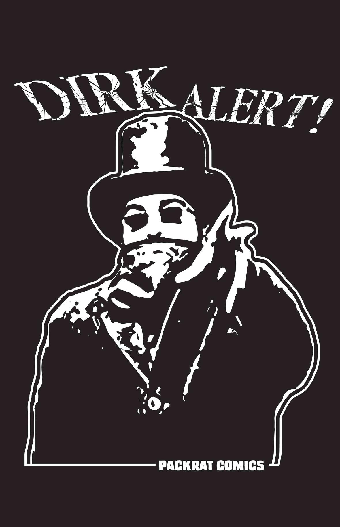 Dirk Alert  -- Final T-shirt Design