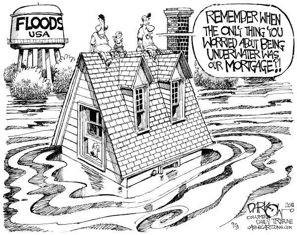flood cartoon
