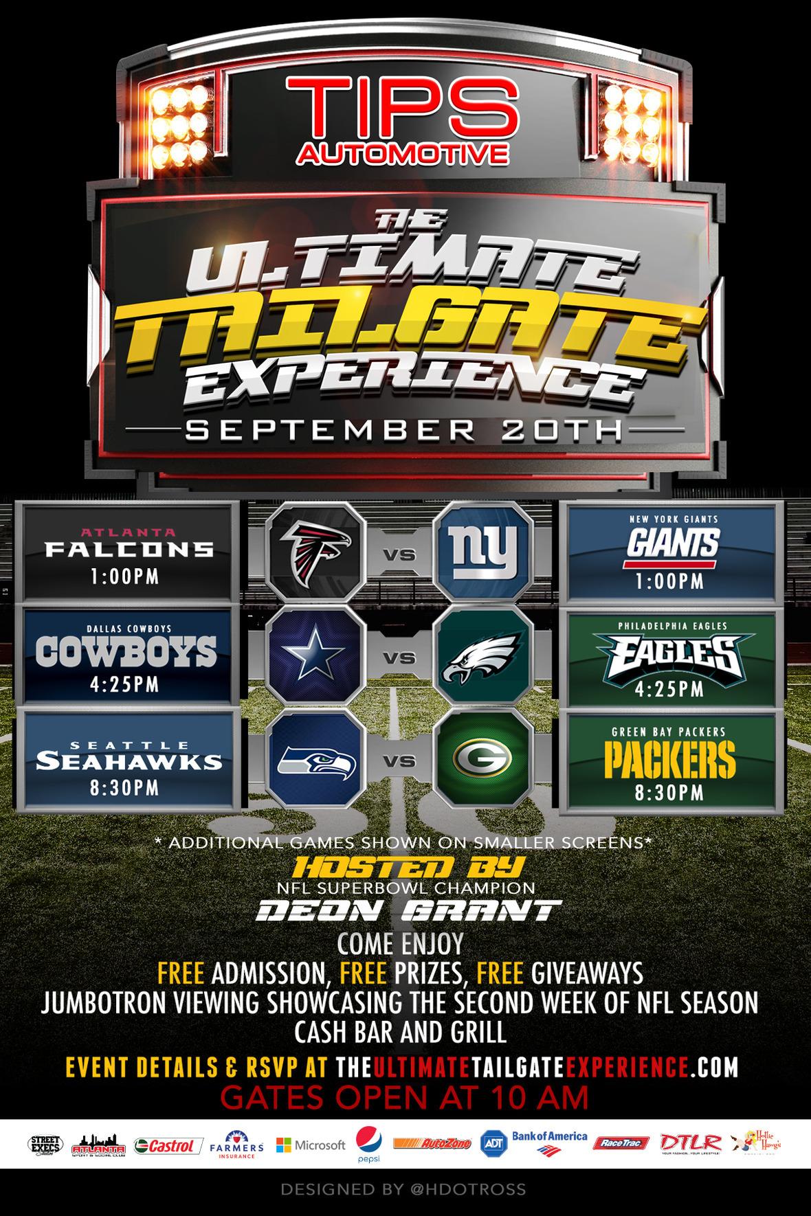 Dave NFL Print flyer