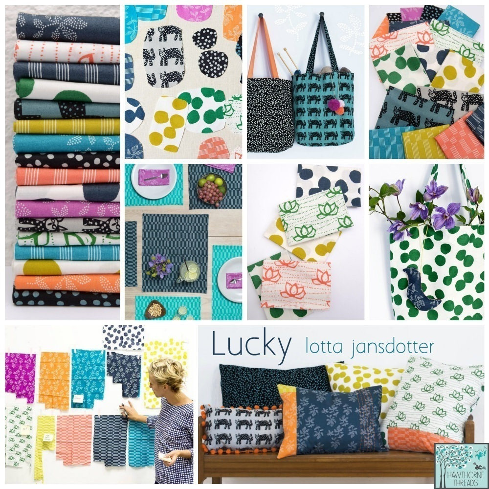 Lotta Lucky Fabric Poster