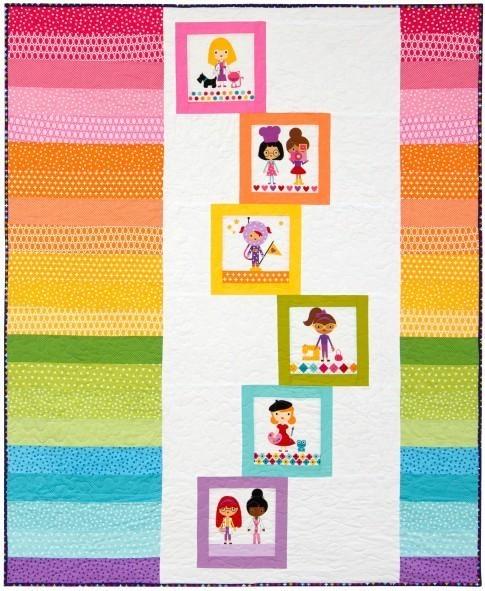 Girlfriends Rainbow Building Blocks  RK website