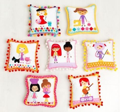 Pom Pom Pillows  RK website