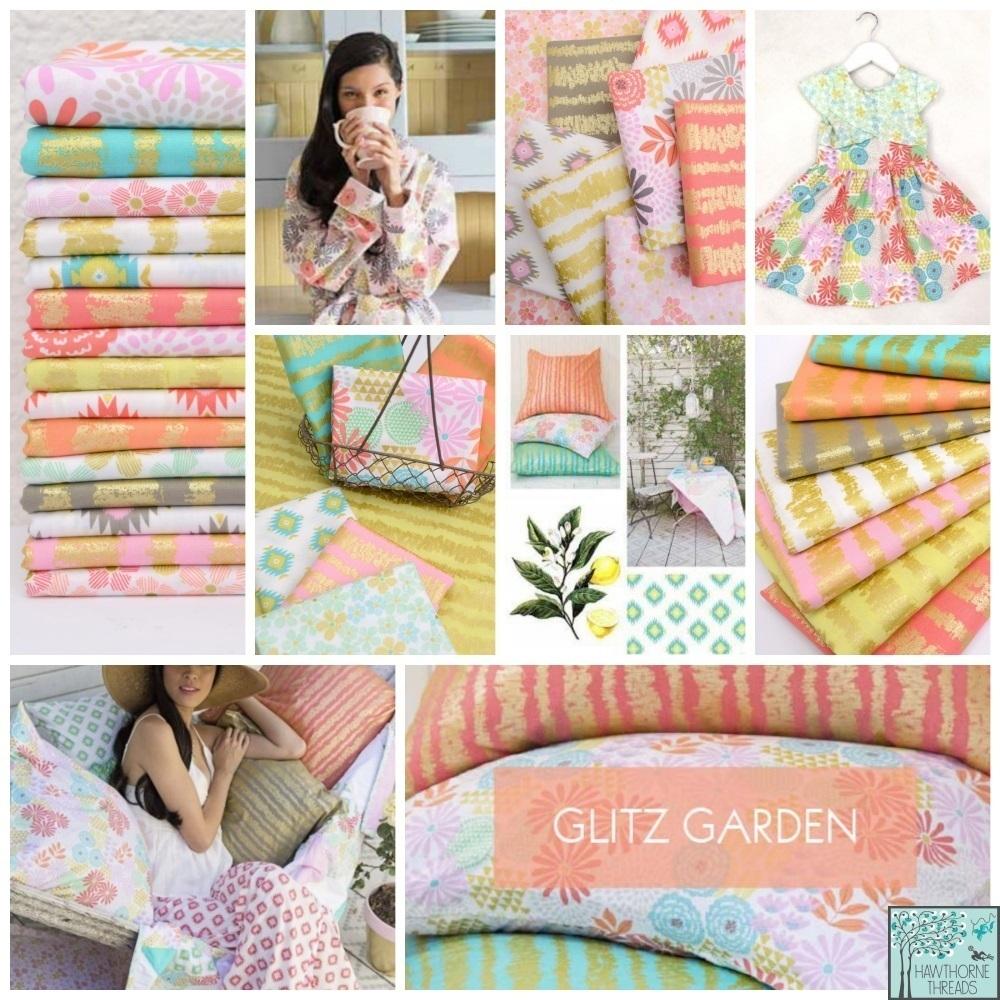 Glitz Garden Fabric Poster