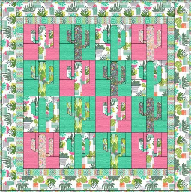 Free Quilt blendfabrics