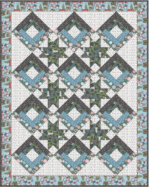 blend- free quilt pattern