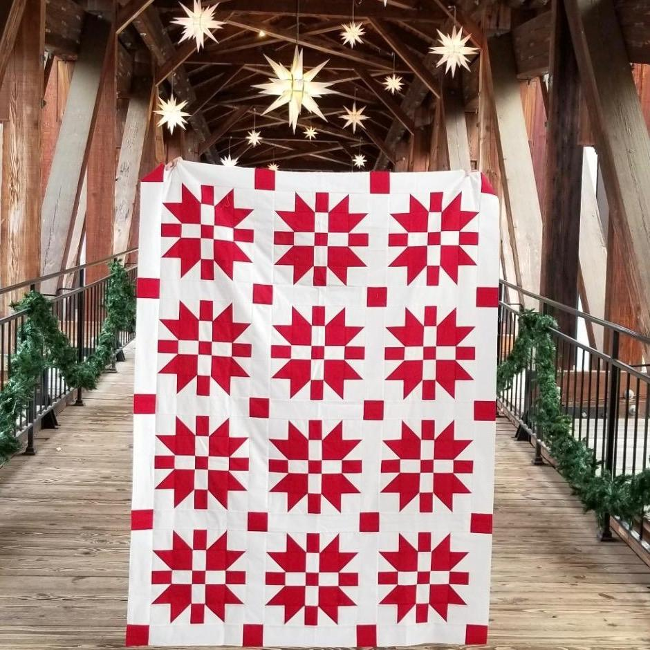 christmas joy- lo ans behold stitchery