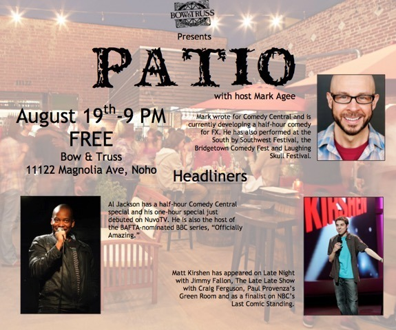 Patio Flyer