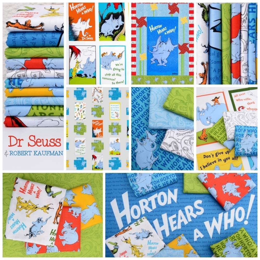 Horton Hears a Who Fabric Poster