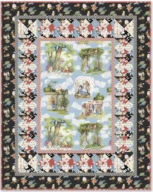 Alice in Wonderland Quilt  Windham Website