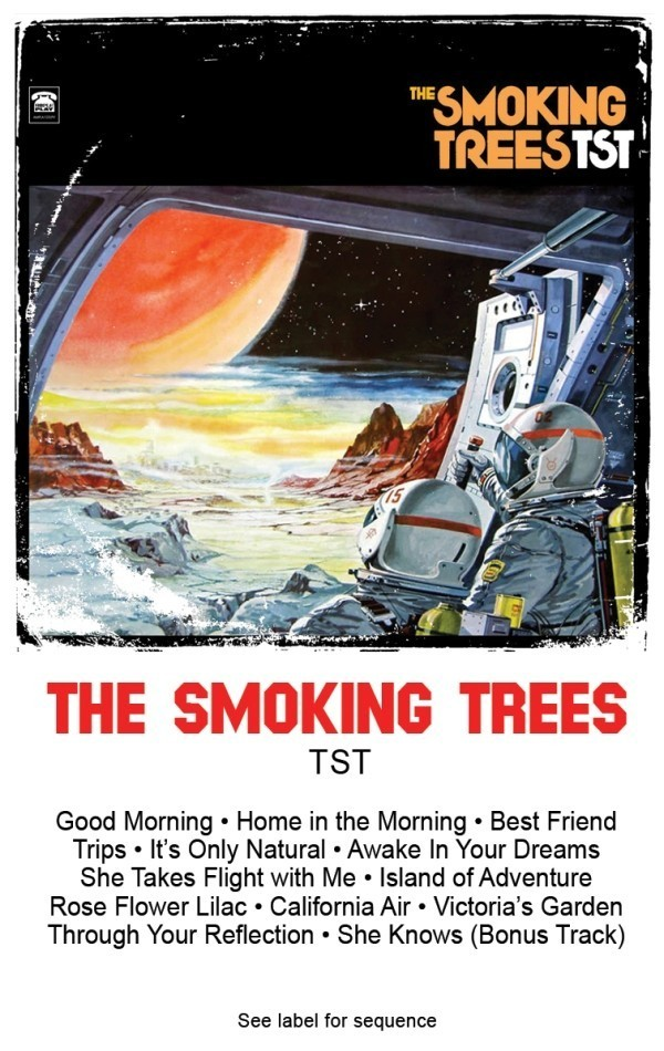 the smoking trees - tst - cassette sm
