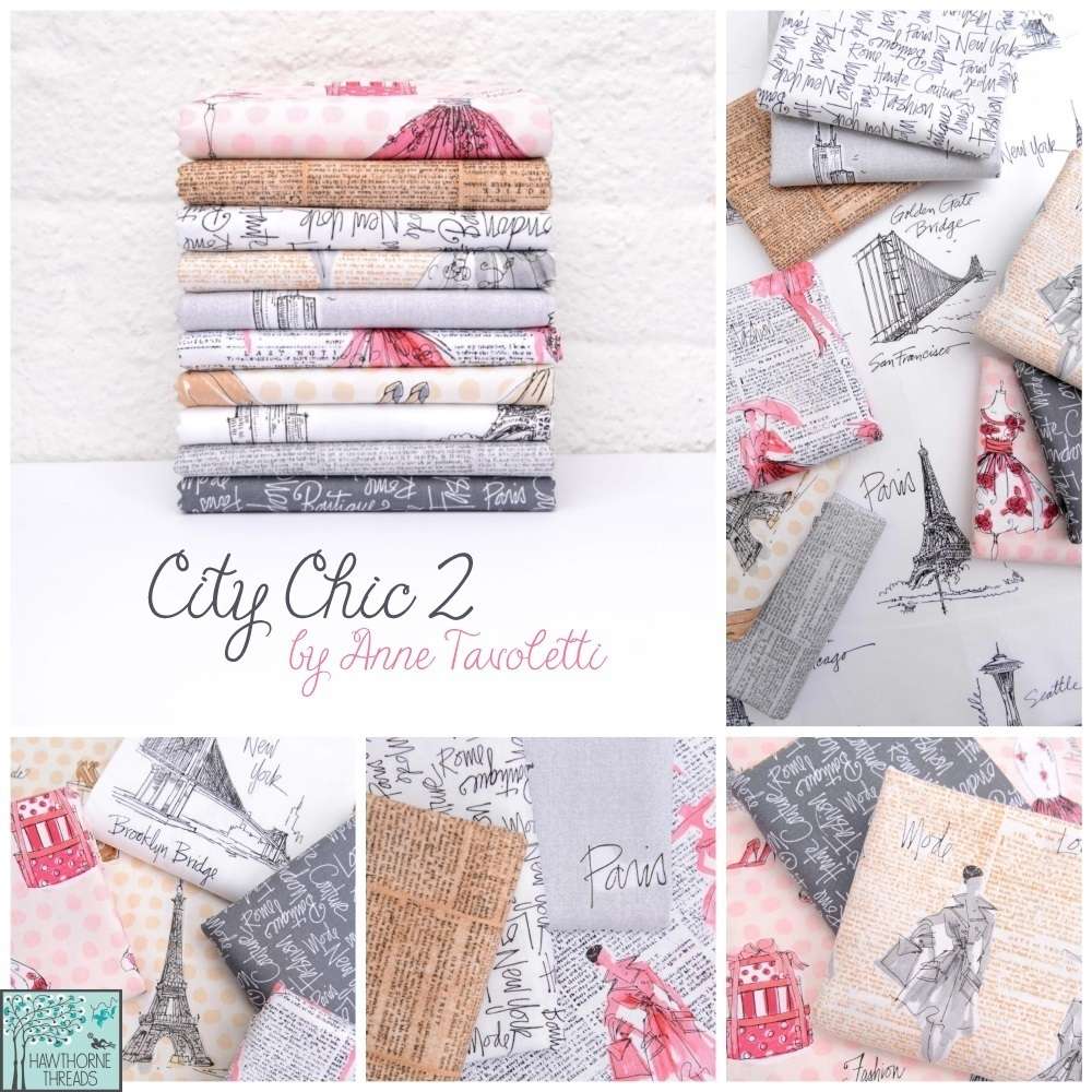 City Chic 2 Fabric Poster 2