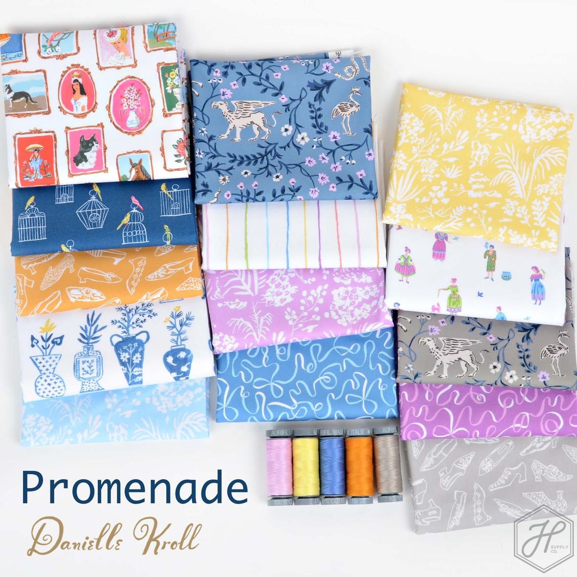 Promenade Danielle Kroll for Figo Fabric at Hawthorne Supply Co