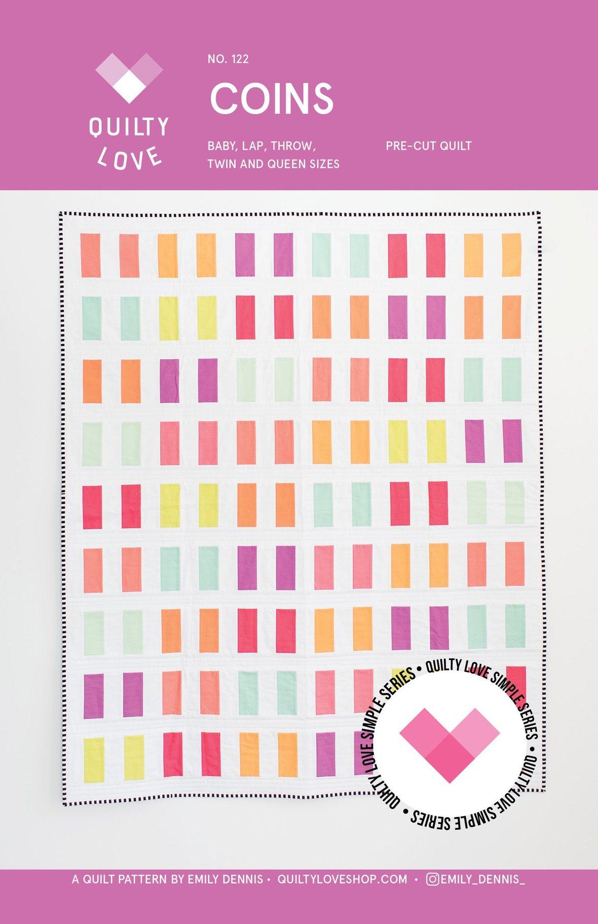 Coins Quilt PAPER Pattern 1024x1024 2x