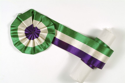 womens suffrage belt