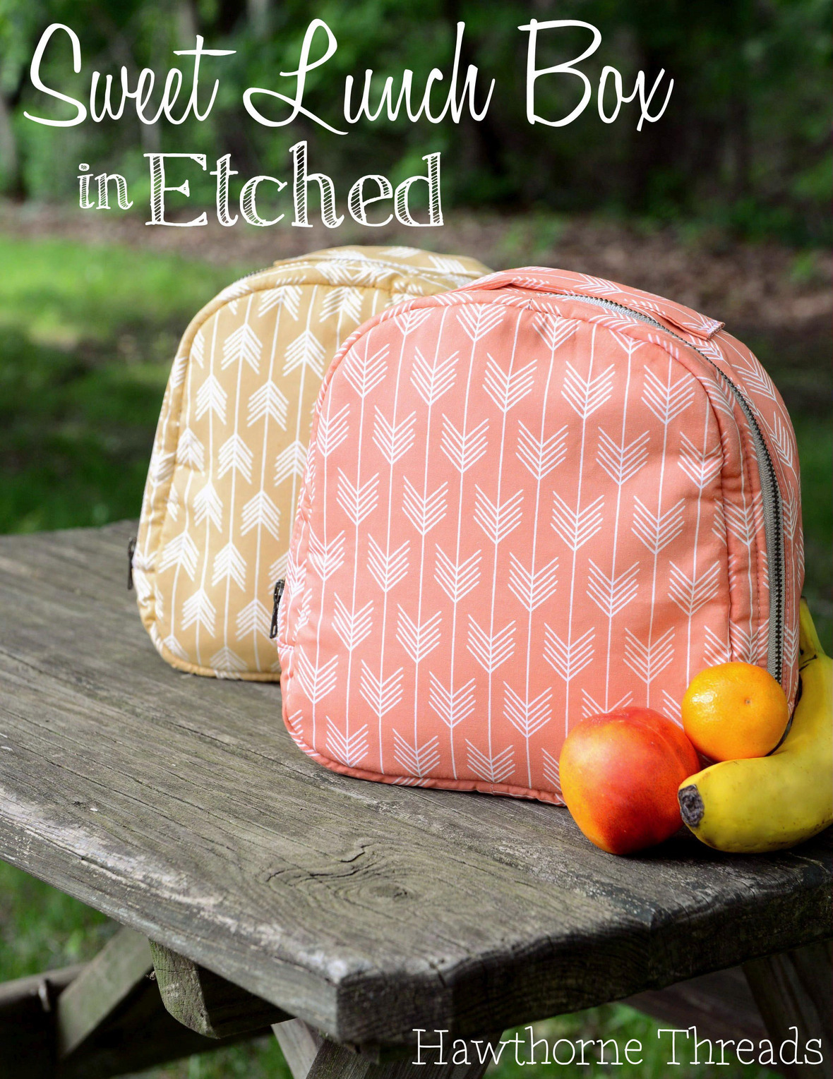 Hawthorne Threads Etched Lunch Box