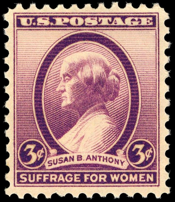 Susan B Anthony 3c 1936 issue
