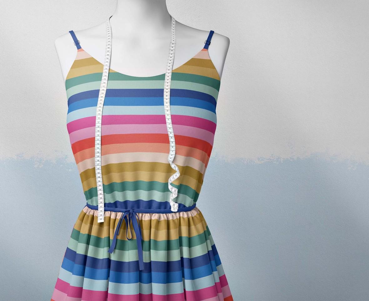 Cape Town Stripe Dress
