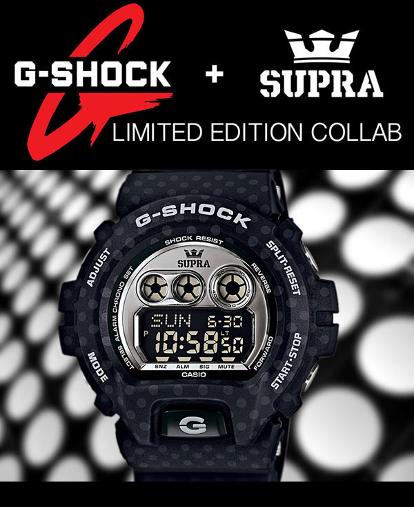 New Extremely Limited Edition Collab Watch By G Shock Supra