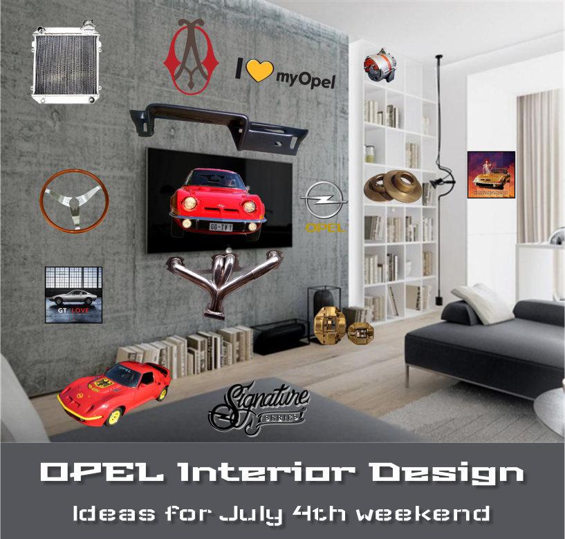 Opel Interior Design