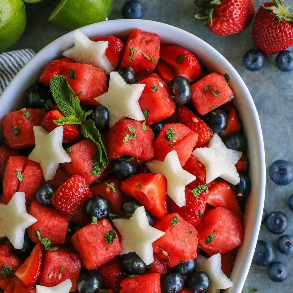 mojito-fruit-salad AFarmgirlsDabbles AFD-7-sq