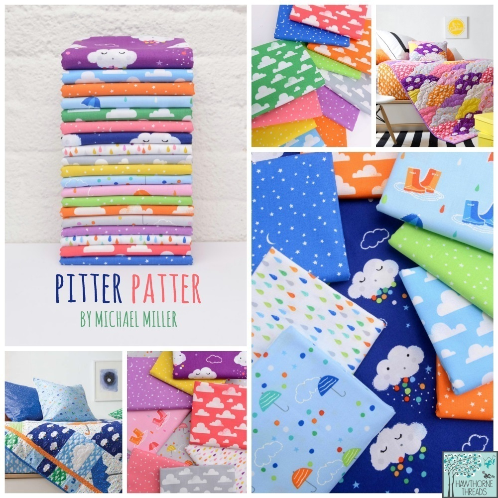 Pitter Patter Fabric Poster