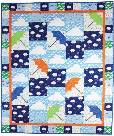 A Singing in the Rain Quilt by Marsha Evans Moore  MM Website