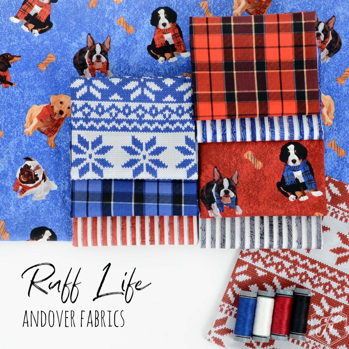 Ruff Life Fabric Poster