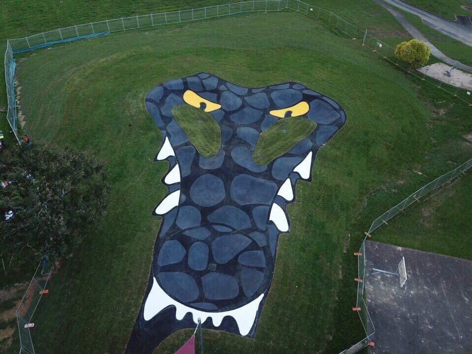 croc pump track