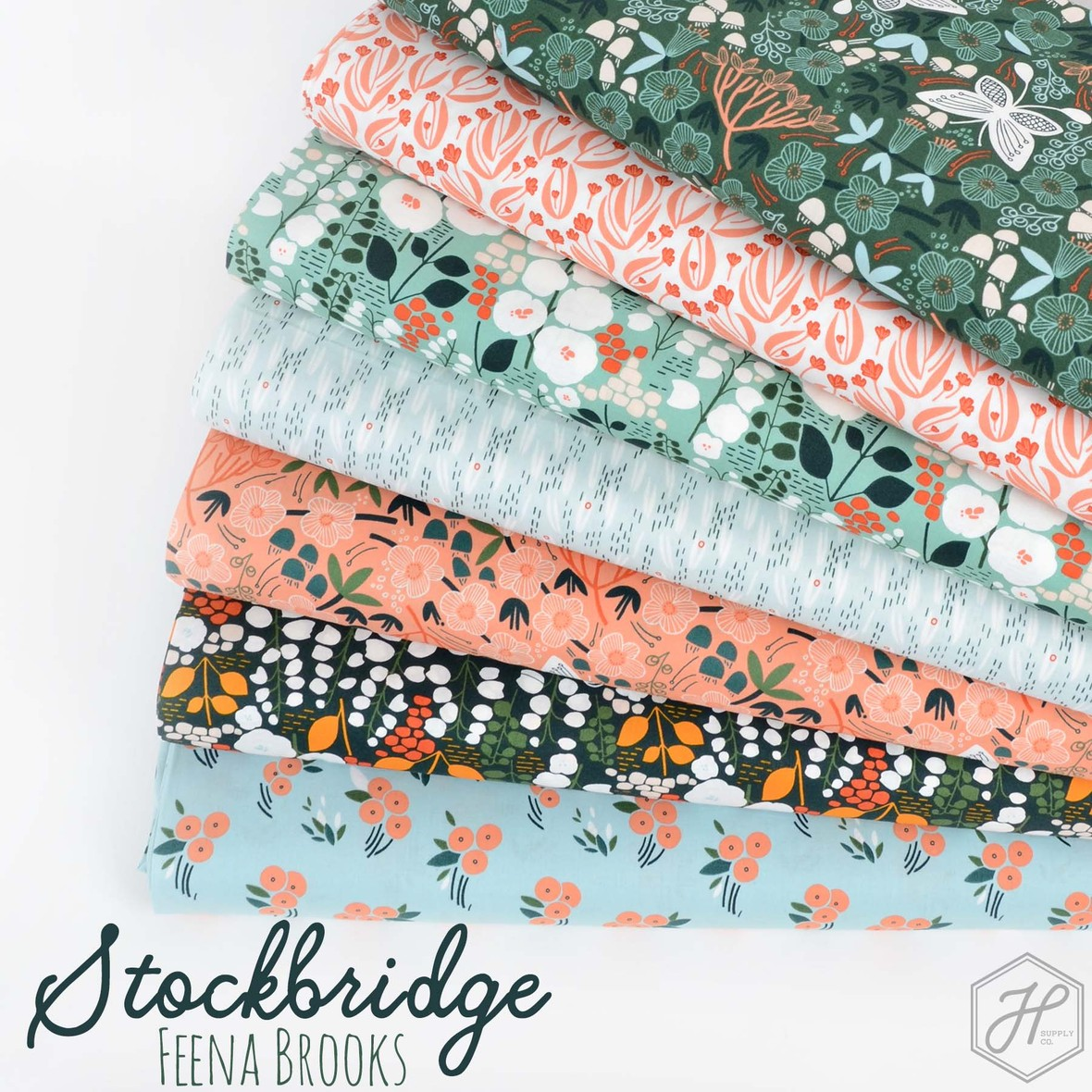 Feena Brooks Stockbridge Fabric from Cloud 9 at Hawthorne Supply Co