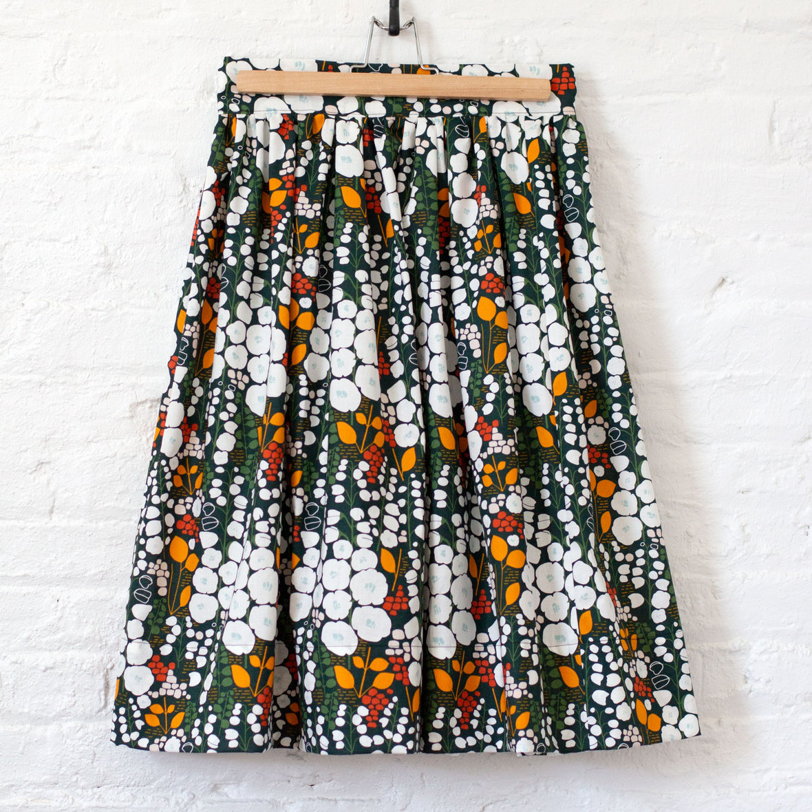 cloud 9 - gertie skirt - by blog for better sewing