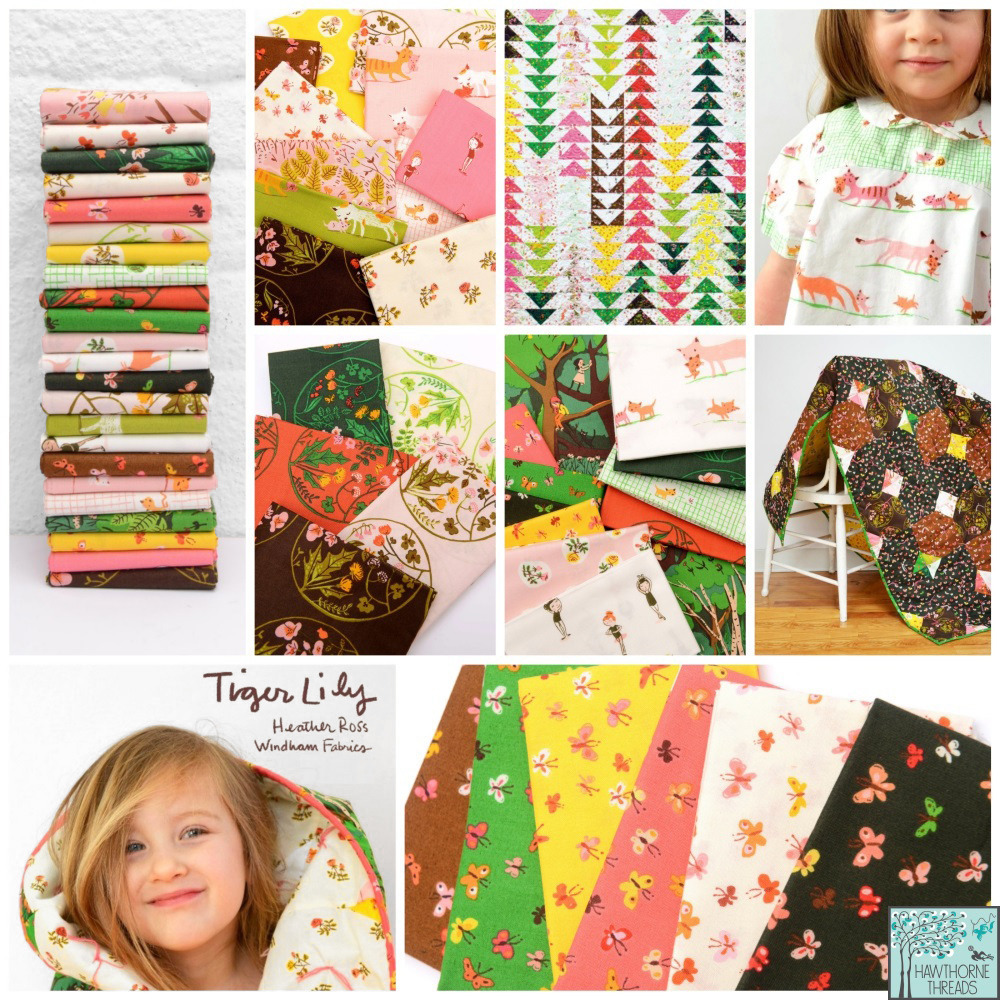 Tiger Lily Fabric Poster 2