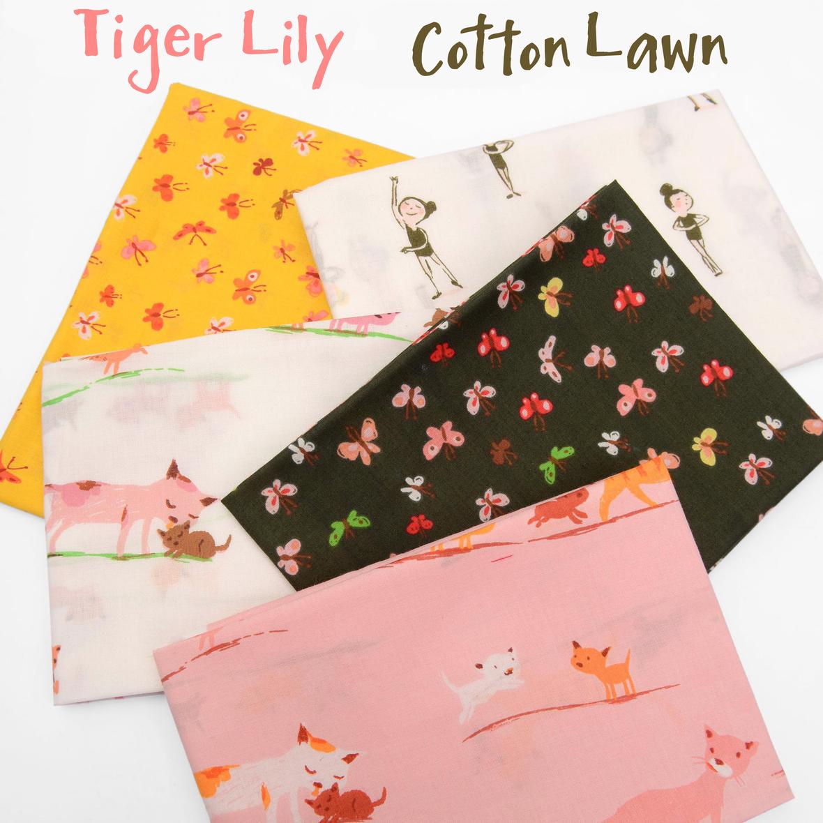 Tiger Lily Cotton Lawn 2