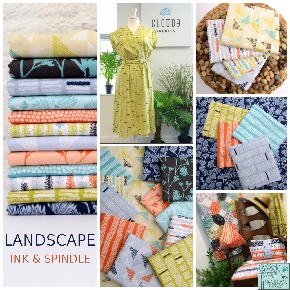 Landscape Fabric Poster