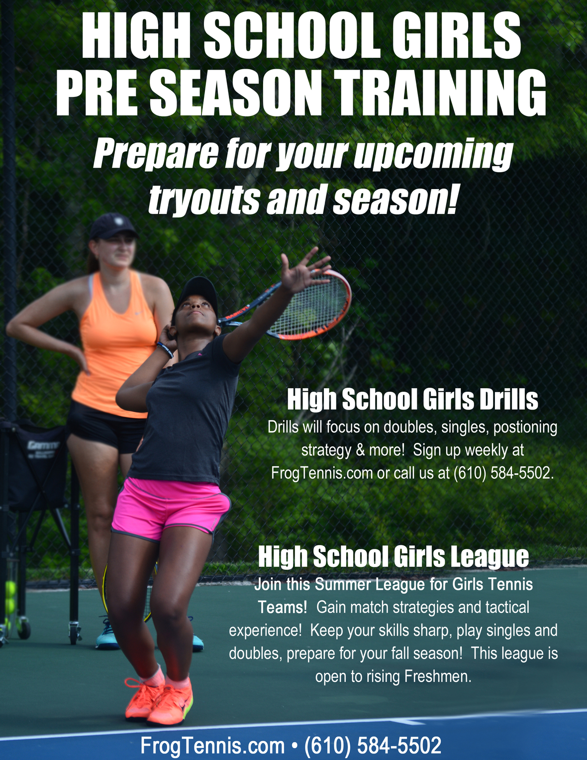 HS Girls Pre Season Training 2019