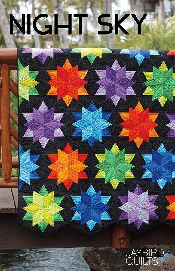 jaybird quilts  night sky sewing pattern