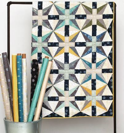 Starry Night Quilt by Janice Ryan of Better Off Thread  RK Lookbook