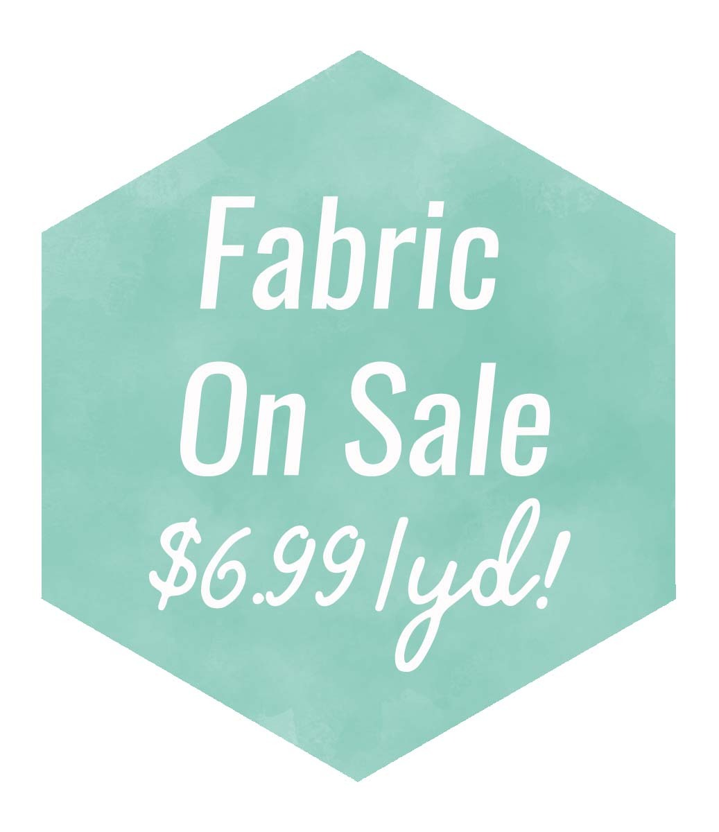 Fabric Sale Watercolor Hexi