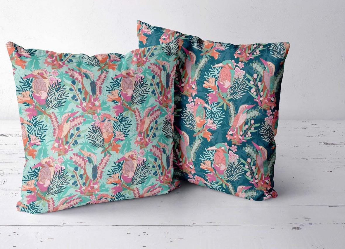 Two Pillows Birds