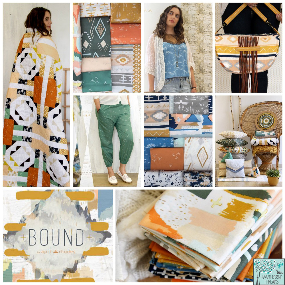 Bound Fabric Poster